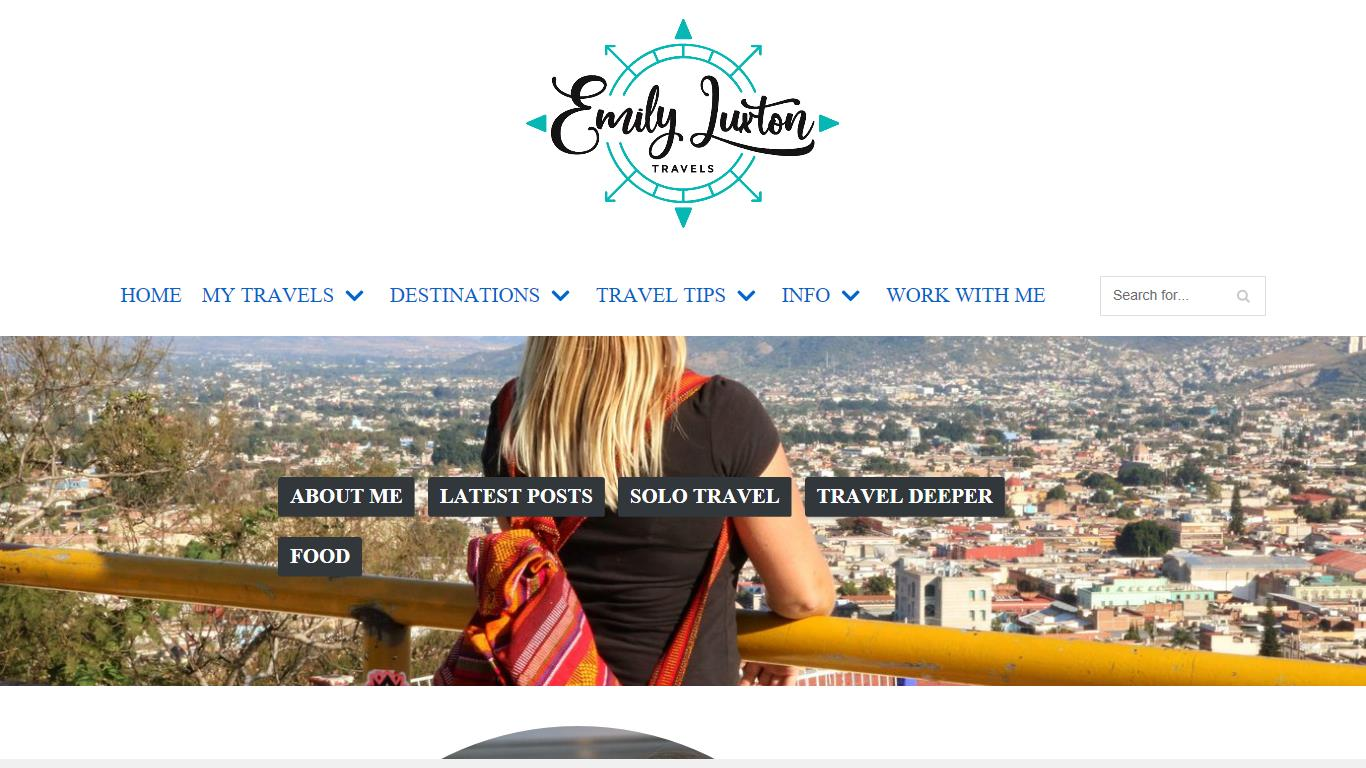 blogl ranking for Emily Luxton Travels