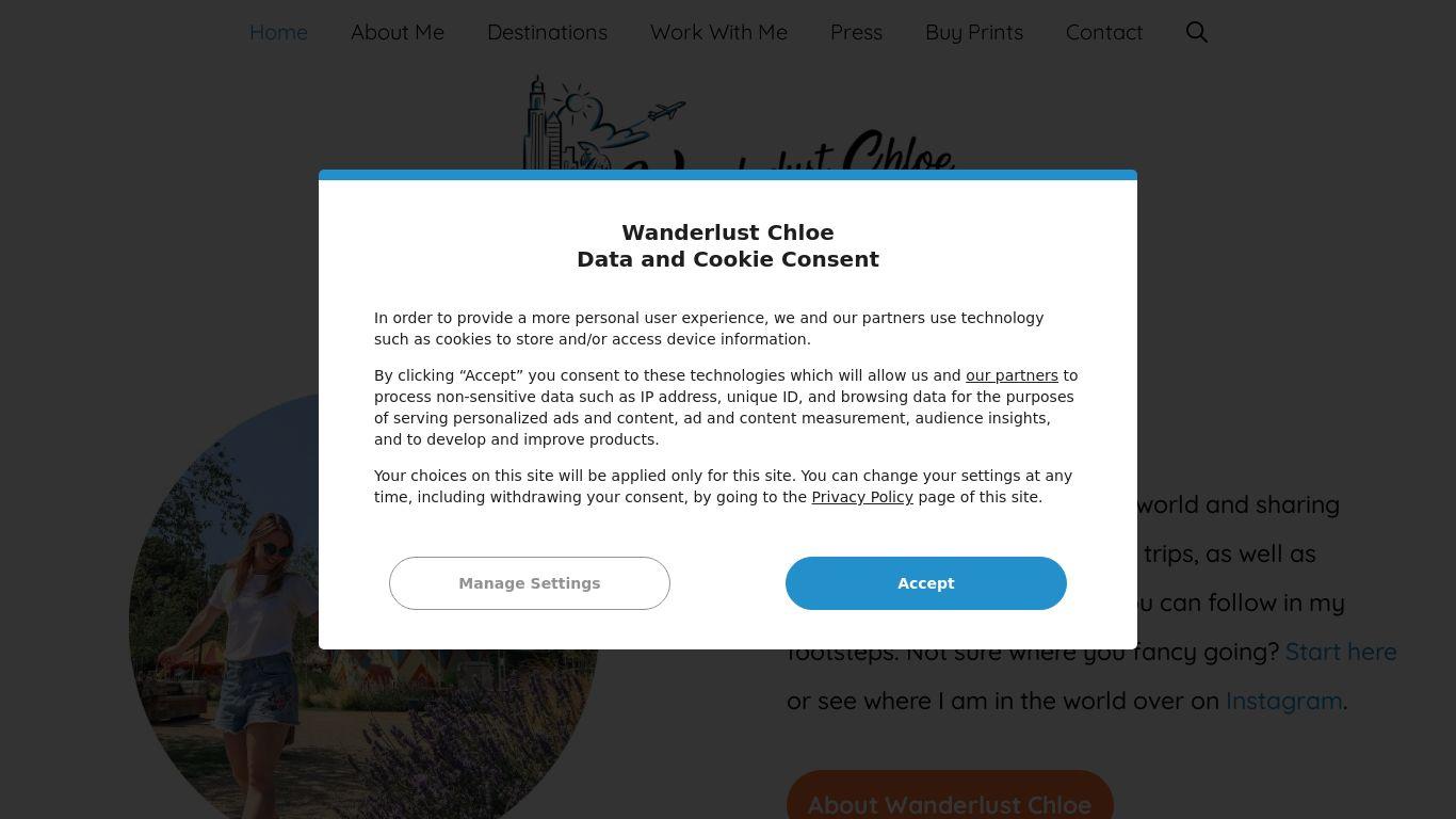 blogl ranking for Wanderlust Chloe