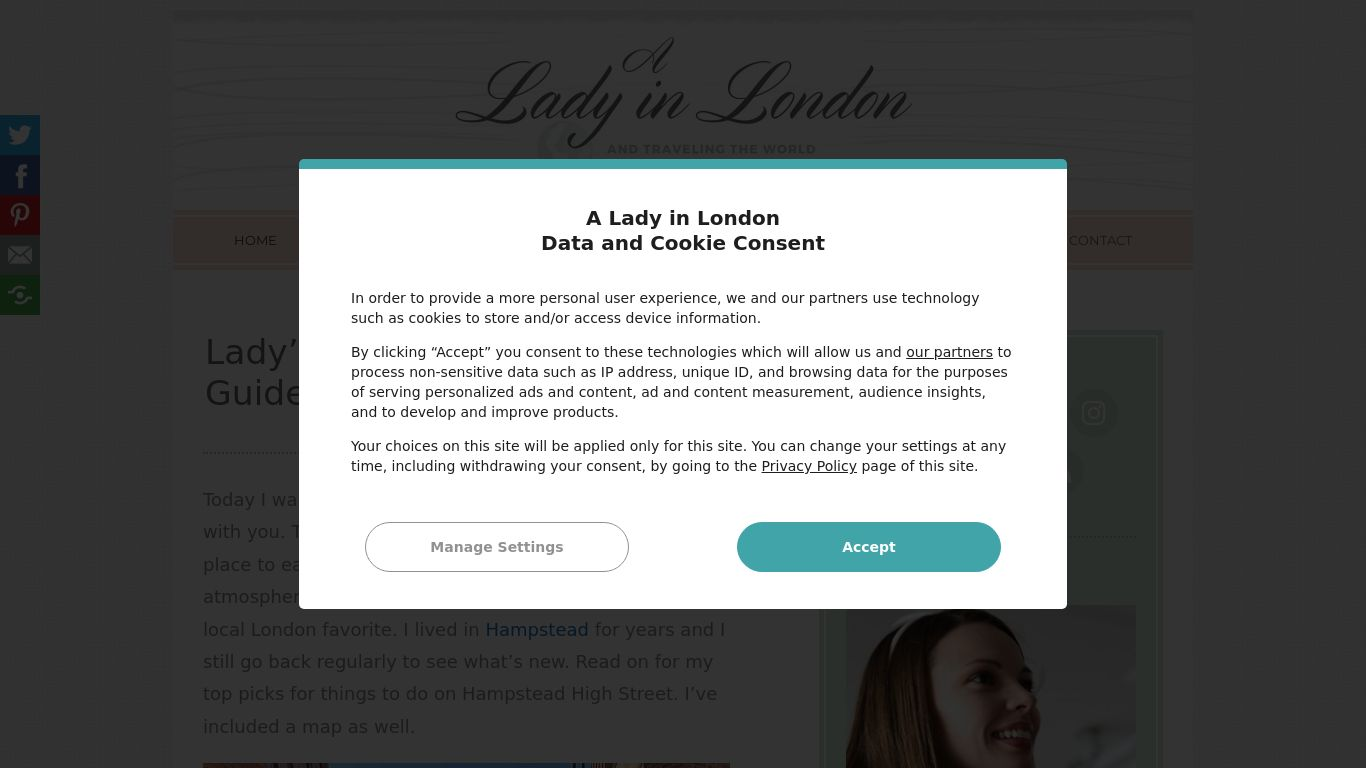 blogl ranking for A Lady in London